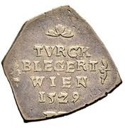 6 Kreuzer - Ferdinand I (Siege coinage - Vienna) -  obverse
