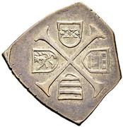6 Kreuzer - Ferdinand I (Siege coinage - Vienna) -  reverse