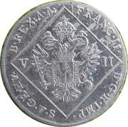 7 Kreuzer - Franz II -  obverse