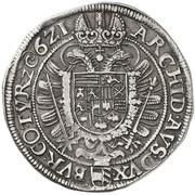 1 Thaler - Ferdinand II (Vienna) -  reverse