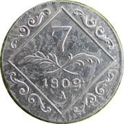 7 Kreuzer - Franz II -  reverse