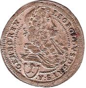 1 Kreuzer - Leopold I (Vienna) -  obverse