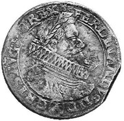 48 Kipper Kreuzer - Ferdinand II (Vienna) – obverse