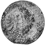 48 Kipper Kreuzer - Ferdinand II (Vienna) – reverse