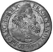 24 Kipper Kreuzer - Ferdinand II (Vienna) -  obverse