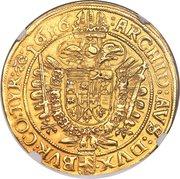 10 Ducat - Matthias II (Vienna) -  reverse
