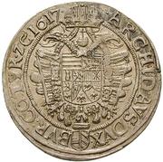 1 Thaler - Matthias II (Vienna) -  reverse