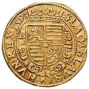1 Ducat - Rudolf II (Vienna) -  reverse