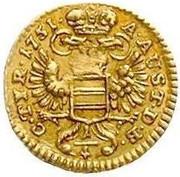 ¼ Ducat - Marie Thérèse (Vienna) -  reverse