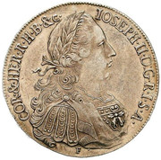 1 Thaler - Joseph II (Regency) -  obverse