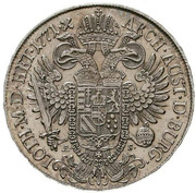 1 Thaler - Joseph II (Regency) -  reverse