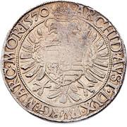 ½ Guldenthaler - Maximilian II (Vienna) -  reverse