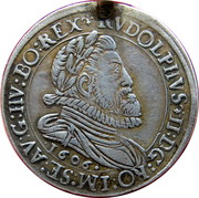 6 Kreuzer - Rudolf II (Hall) – obverse