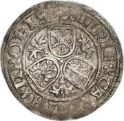 ½ Batzen - Charles V / Ferdinand I -  reverse