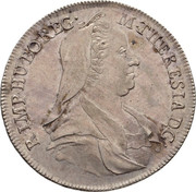 ½ Thaler - Maria Theresia (Hall) -  obverse