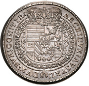 ½ Thaler - Leopold I (Hall) -  reverse