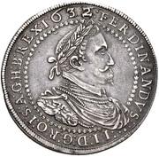 2 Thaler - Ferdinand II (Graz) – obverse