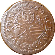 3 Kreuzer - Ferdinand II (Graz) -  reverse