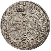 3 Kreuzer - Joseph I (Hall) -  reverse