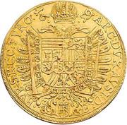 10 Ducat - Leopold I (Vienna) -  reverse