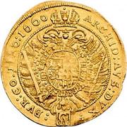 2 Ducat - Leopold I (Vienna) -  reverse