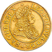 2 Ducat - Leopold I (Vienna) -  obverse