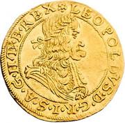 1 Ducat - Leopold I (Vienna) -  obverse