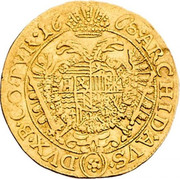 1 Ducat - Leopold I (Vienna) -  reverse