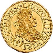 1/3 Ducat - Leopold I (Vienna) -  obverse