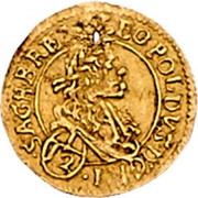 1/12 Ducat - Leopold I (Vienna) -  obverse