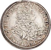 ½ Thaler - Leopold I (Vienna) -  obverse