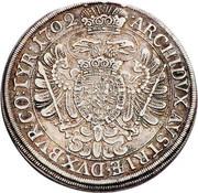 ½ Thaler - Leopold I (Vienna) -  reverse