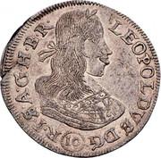 10 Kreuzer - Leopold I (Vienna) -  obverse