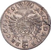10 Kreuzer - Leopold I (Vienna) -  reverse