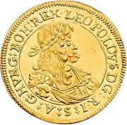 2 Ducat - Leopold I (Graz) -  obverse