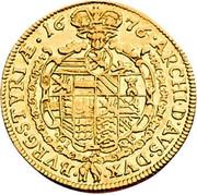 1 Ducat - Leopold I (Graz) -  reverse