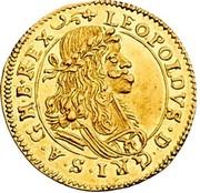 1 Ducat - Leopold I (Graz) -  obverse