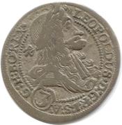3 Kreuzer - Leopold I (Graz) -  obverse