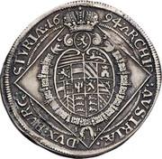 ¼ thaler Leopold I (Graz) -  reverse