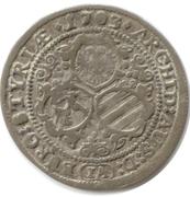 3 Kreuzer - Leopold I (Graz) -  reverse