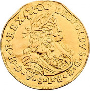 2 Ducat - Leopold I (St Veit) -  obverse
