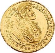 6 Ducat - Leopold I (St Veit) – obverse