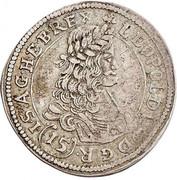 15 kreuzer Leopold I (St Veit) -  obverse
