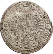 15 kreuzer Leopold I (St Veit) -  reverse