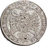 15 Kreuzer - Leopold I (St Veit) -  reverse