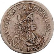 6 Kreuzer - Leopold I (St Veit) -  obverse