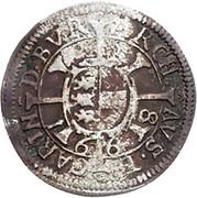1 Kreuzer - Leopold I (St Veit) -  reverse