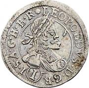 1 Kreuzer - Leopold I (St Veit) -  obverse