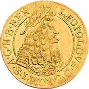 1 Ducat - Leopold I (Hall) -  obverse