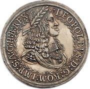 3 Thaler - Leopold I (Hall) -  obverse